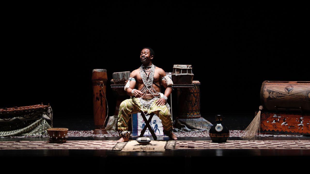 Presentación de la película  Manoliño Nguema