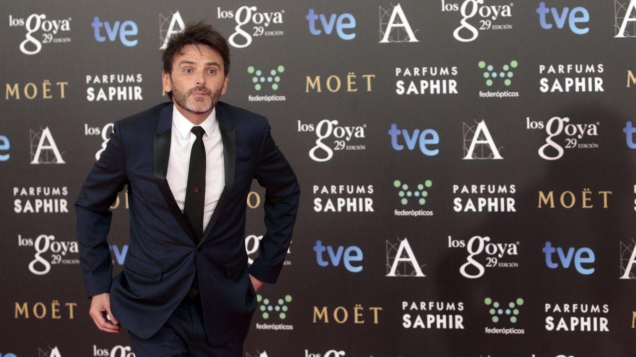 Un gallego da vida a Franco en la próxima película de Amenábar.Un montón de pinceles y botes de pintura