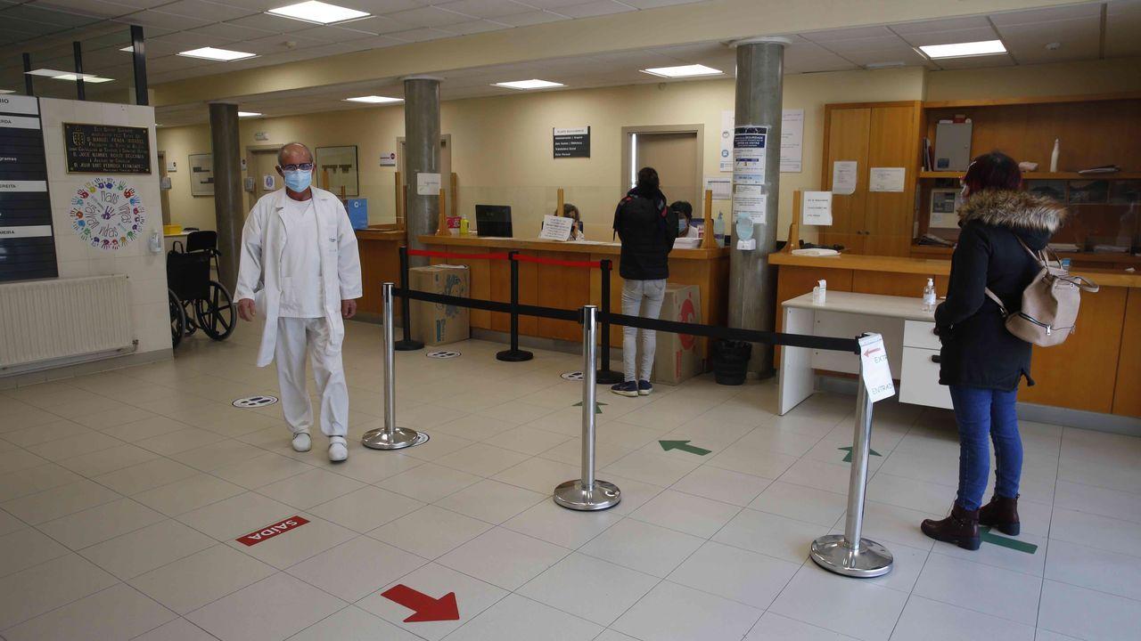 El centro de salud de Lérez, en Pontevedra
