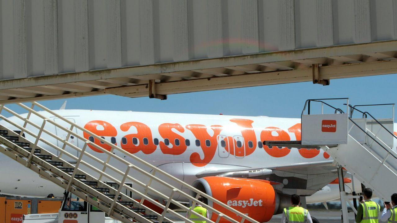 Aeropuerto de Asturias.Easyjet