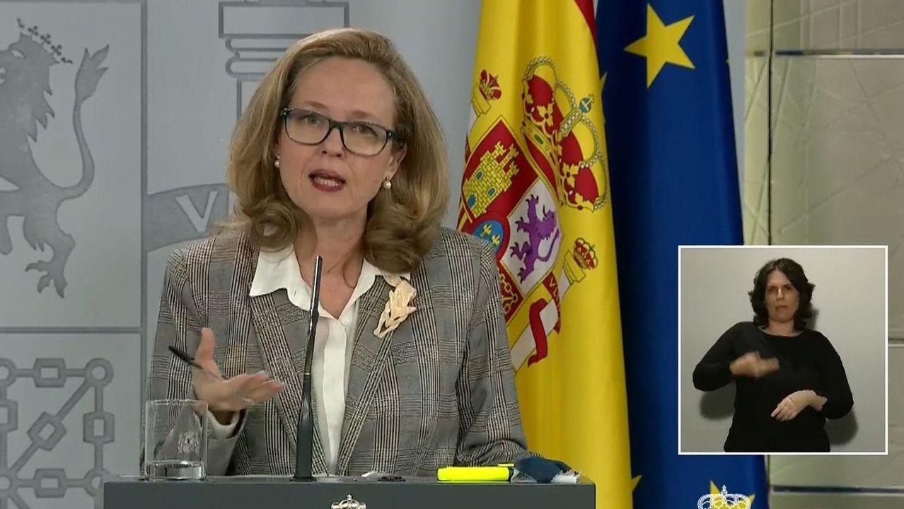 El primer ministro portugués, António Costa (izquierda), cargó duramente contra el ministro de Finanzas  neerlandés, Wopke Hoekstra, por criticar a España por no contar con recursos suficientes para frenar la pandemia