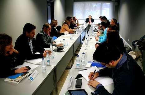 José Manuel Figueroa ha comenzado a reunir una vez al mes a los altos cargos de su partido