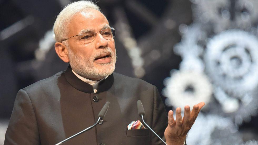 Narendra Modi, el primer ministro indio.