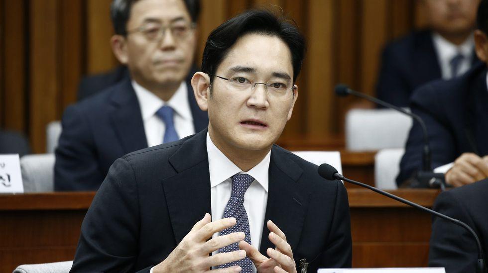 Lee Jae-yong, responsable de Samsung, en una foto de diciembre del 2016