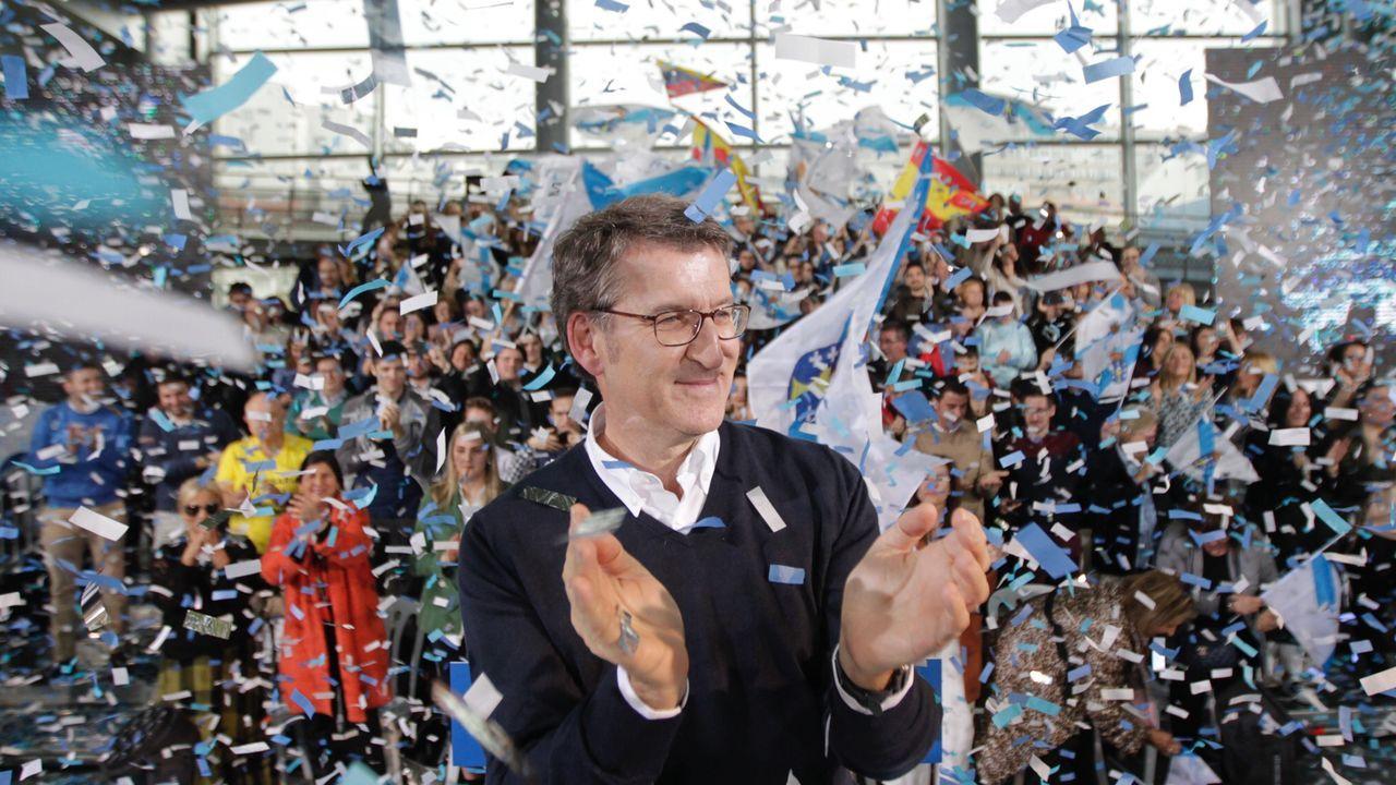 Alberto Núñez Feijoo, proclamado candidato a la presidencia de la Xunta
