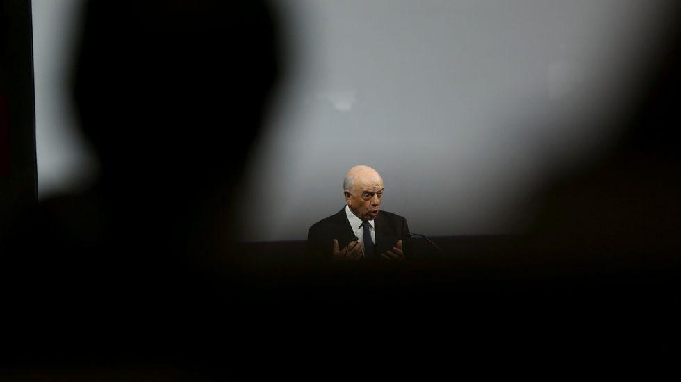 La Audiencia imputa a Fernández Ordóñez por la salida a Bolsa de Bankia.Sede del Banco de España en Madrid