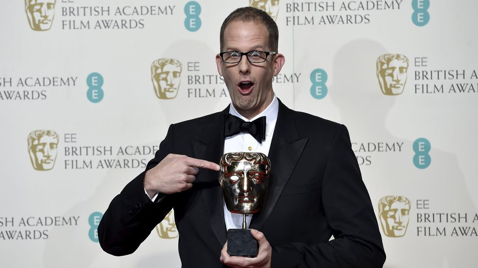 Pete Docter, con su premio al mejor filme de animación.