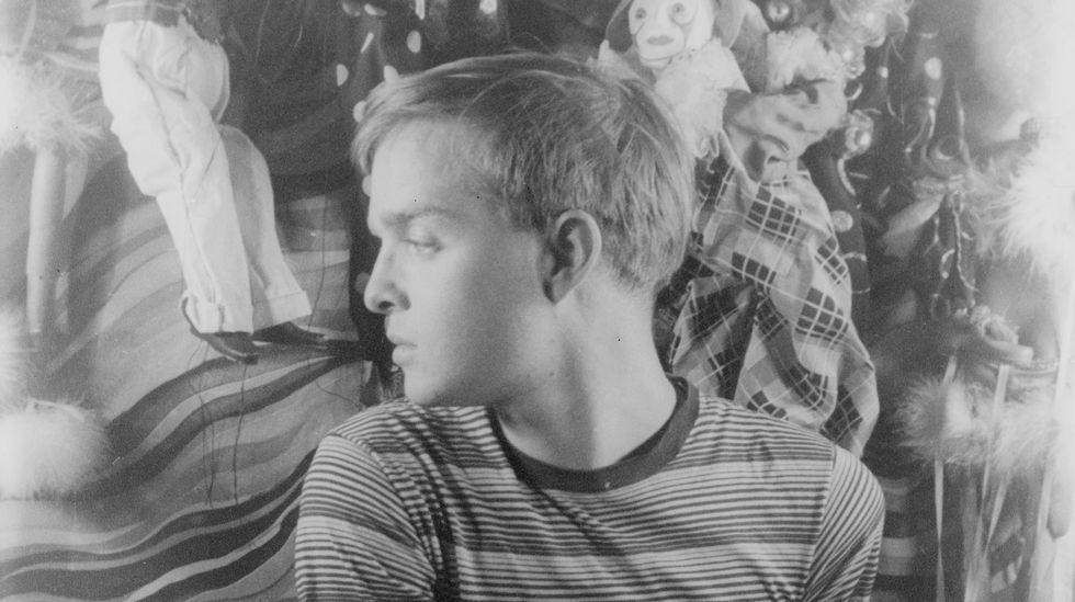 O mozo Truman Capote