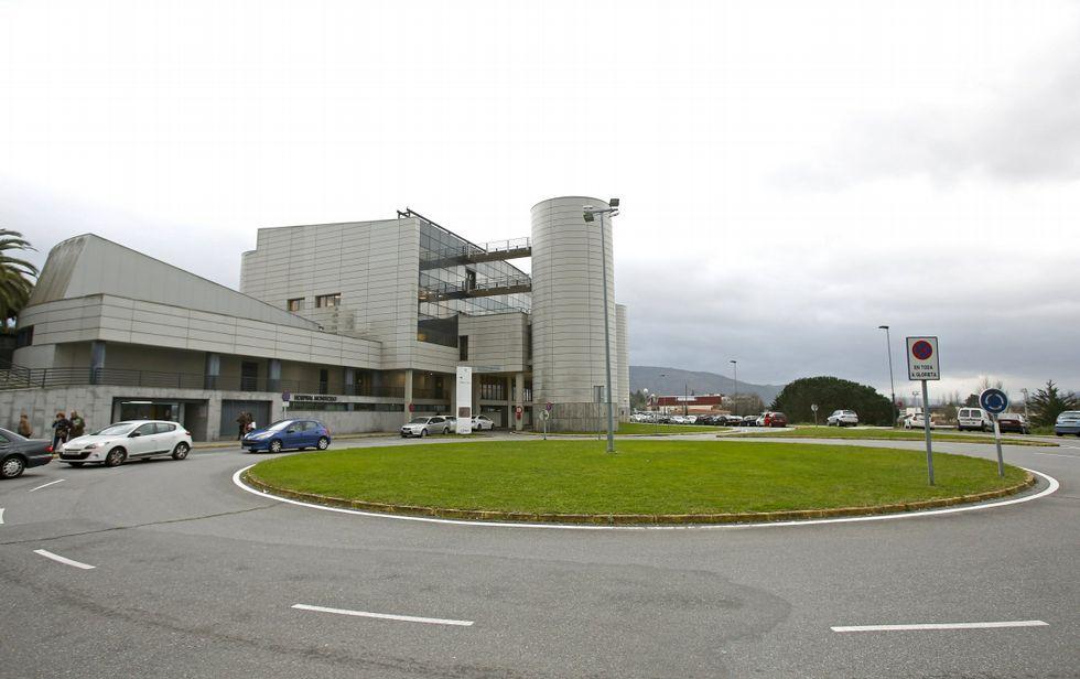 Los tentáculos de la Pulpo enredan a Besteiro.Montecelo es el hospital de referencia para municipios tanto pontevedreses como arousanos.