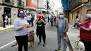 Protestaen A Pobra por el cierre de la hostelería y sufrir lasmáximas restricciones