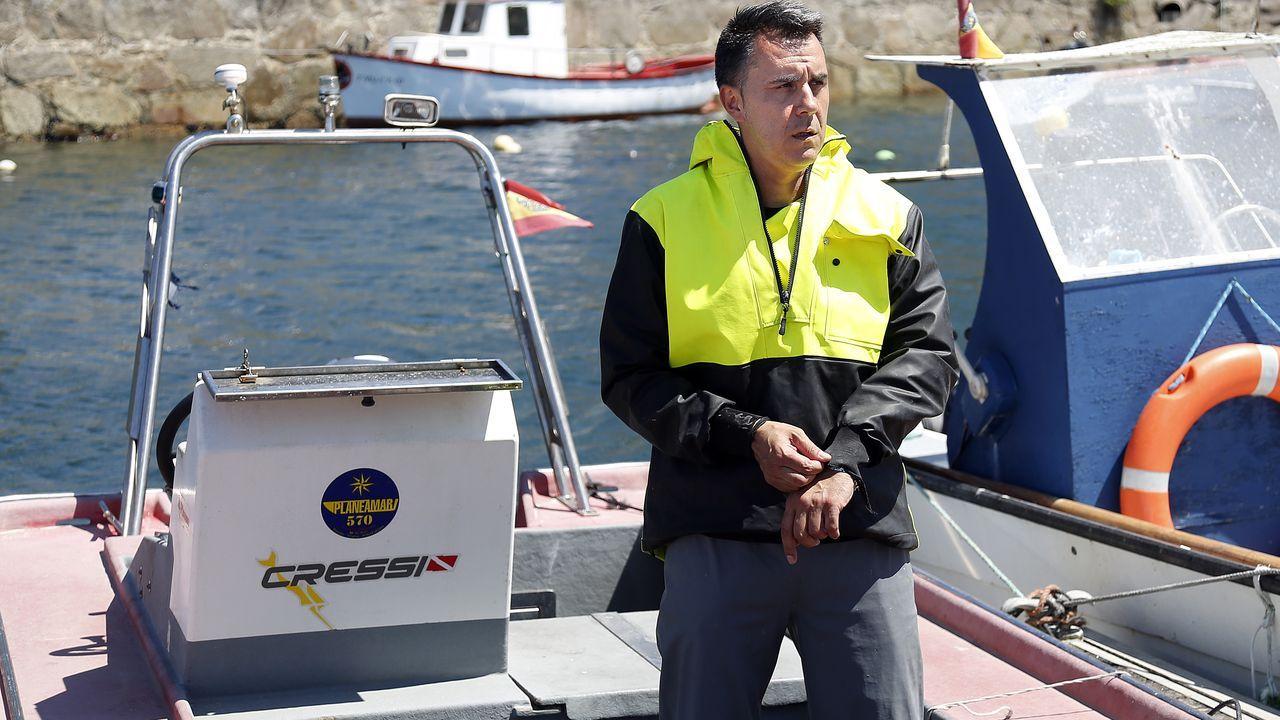 Javier Hurtado, padre de uno de los chicos desaparecidos
