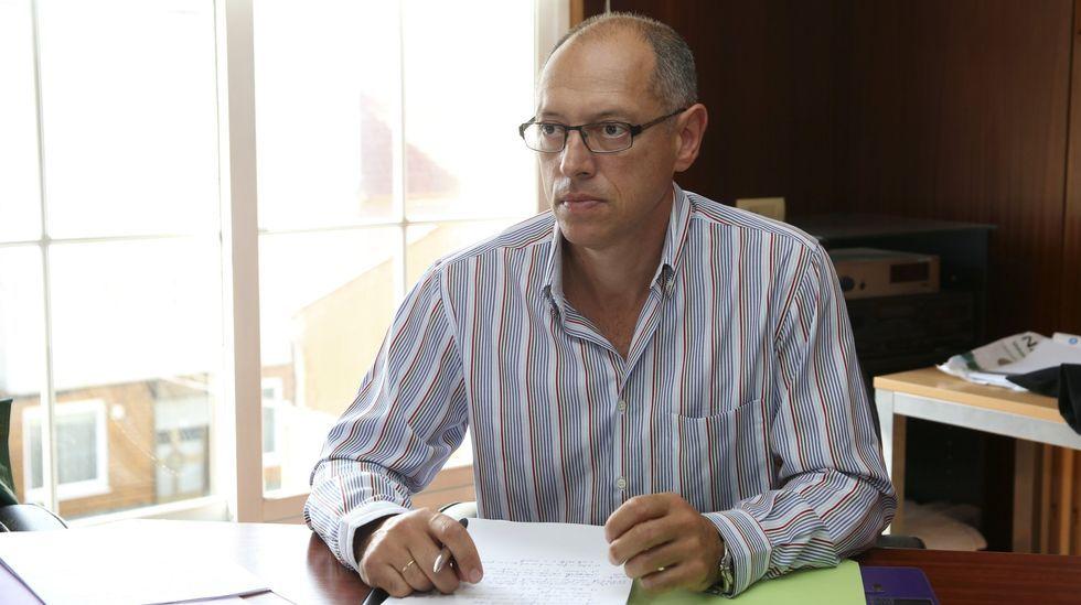 Amancio Lavandeira, portavoz de TeGa, en una imagen de archivo