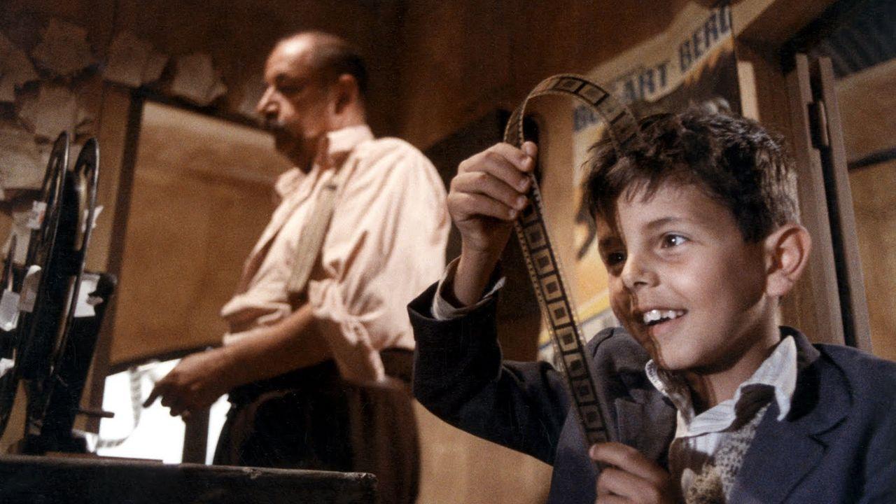 Un fotograma de la película de Tornatore