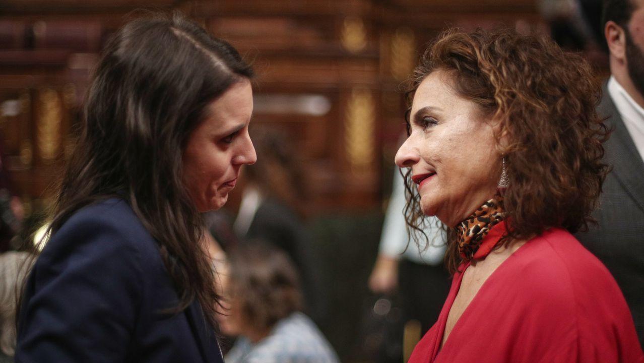 Fractura en el Gobierno de coalición a cuenta de la ley de libertad sexual.El portavoz de Unidas Podemos en el Congreso, Pablo Echenique