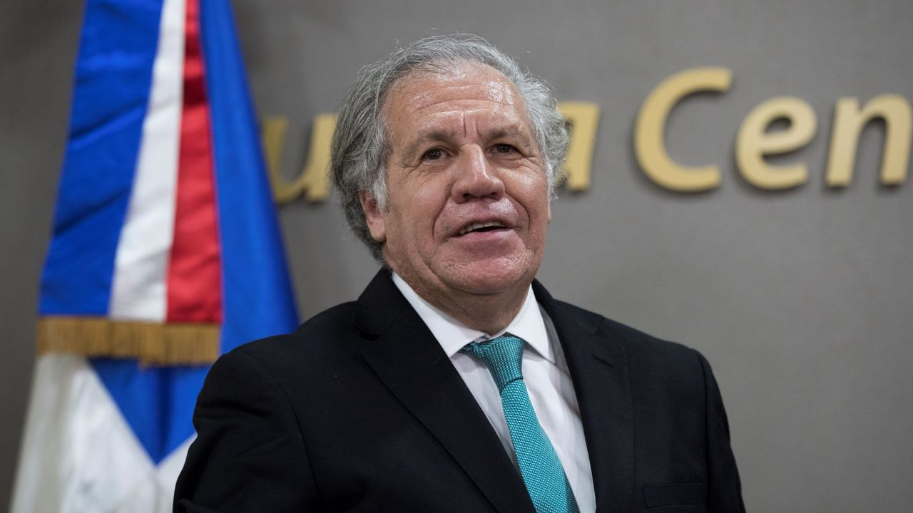 El actual secretario general de la OEA, Luis Almagro