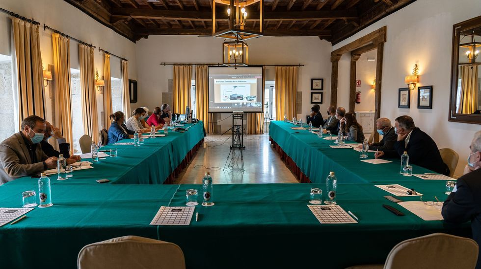 El jurado de la sexta edición del concurso se renunió el pasado sábado en el Parador de Turismo de Monforte