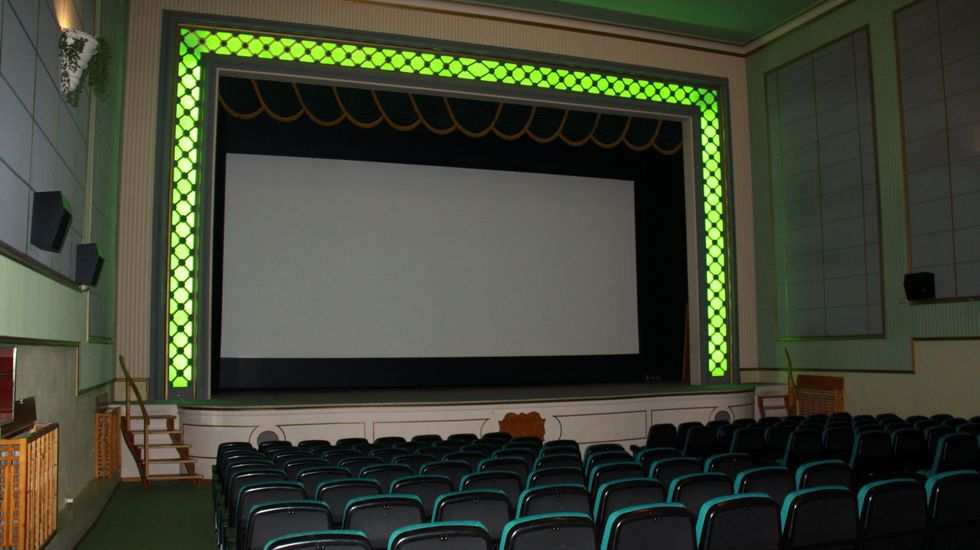 No habrá programación de cine en A Rúa (en la imagen) ni en O Barco