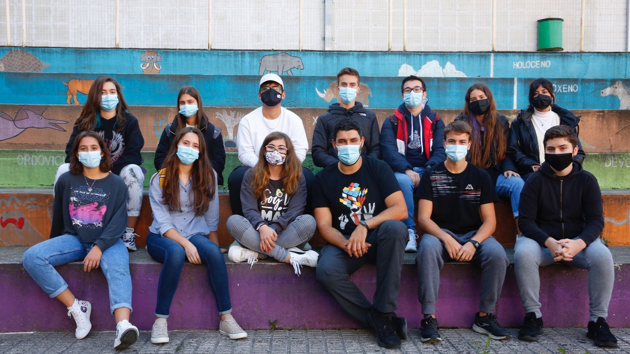 Medidas para prevenir el contagio de covid-19 en un colegio de Vigo