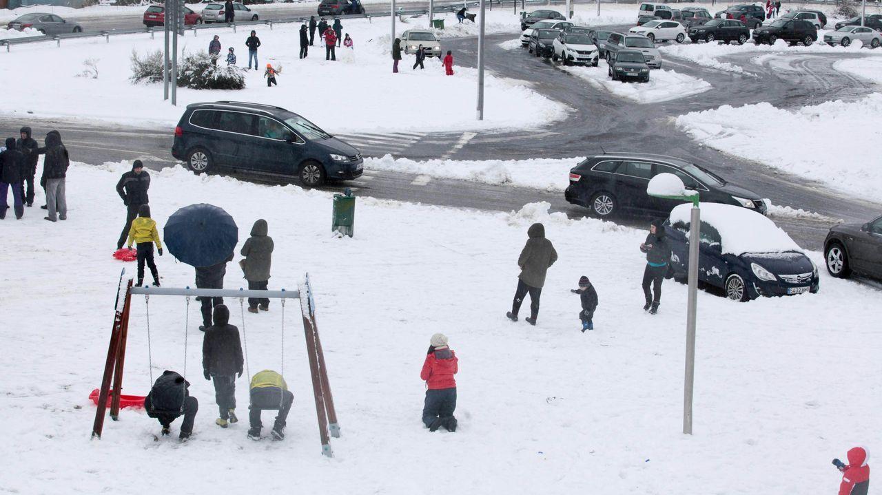 La nieve vuelve a la ciudad