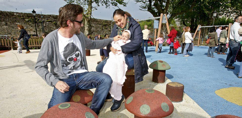 Carmen Rodríguez a sus 32 años era de las más jóvenes en sus clases de preparto. Manuel Campos, padre de Daniela, tiene 37 años.