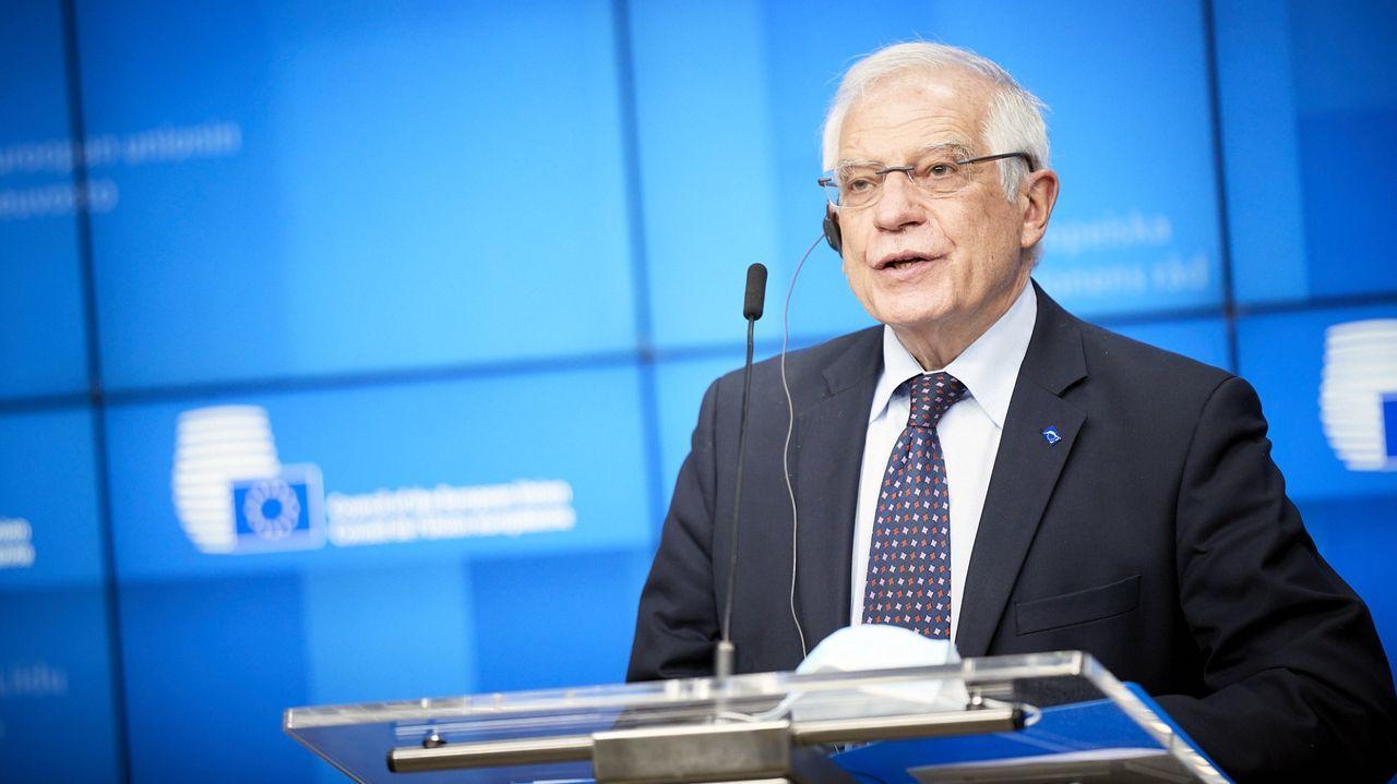 El alto representante de la UE para la Política Exterior, Josep Borrell
