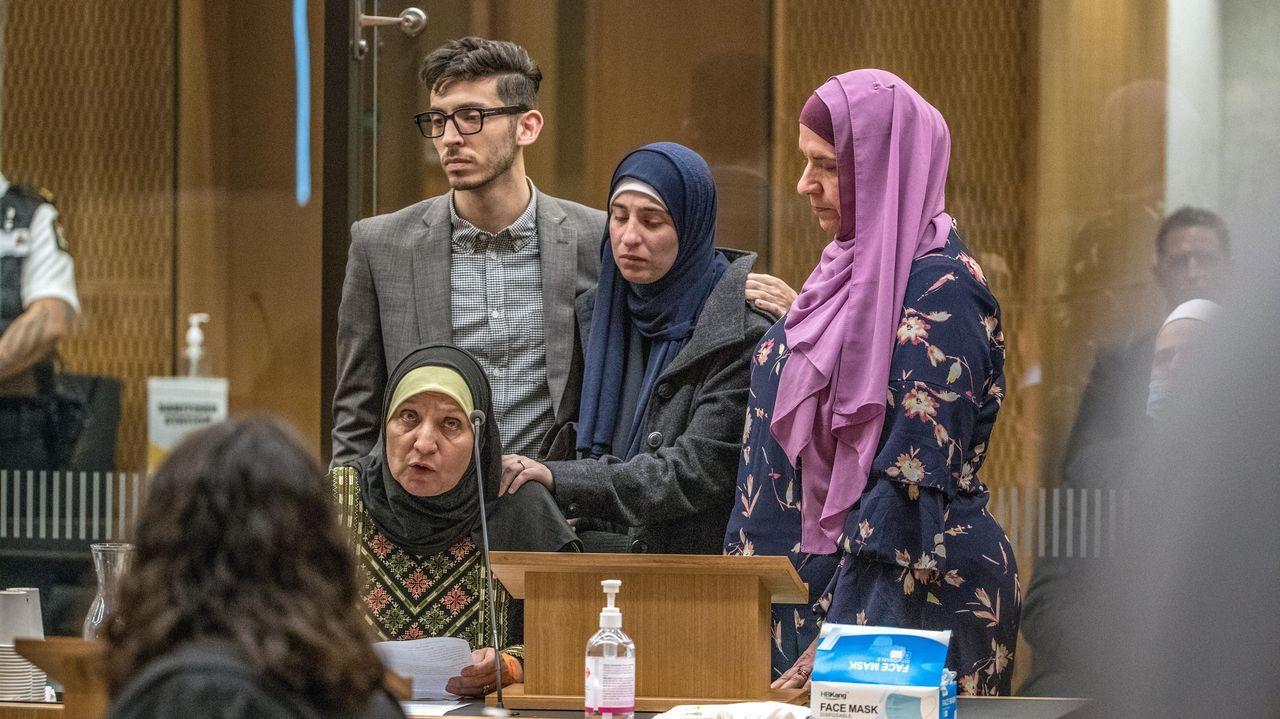 «No puedo perdonarte», dijo ante el tribunal Maysoon Salama, que perdió a su hijo y cuyo esposo fue herido