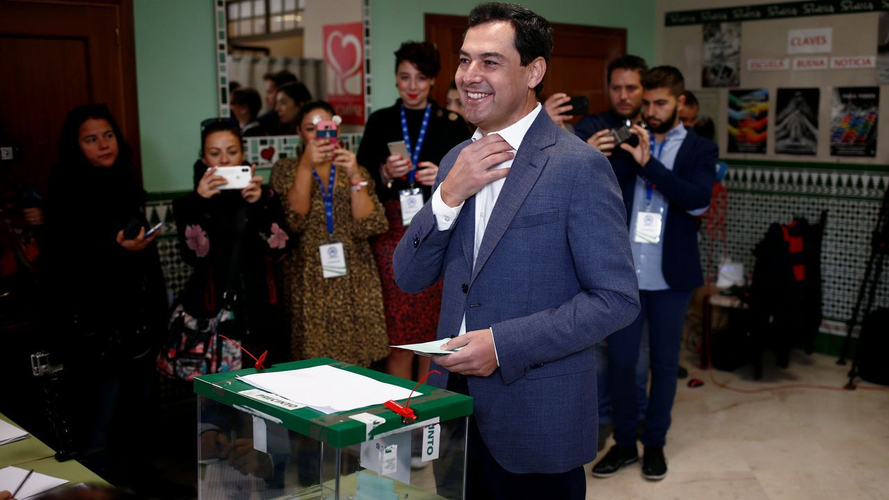 Elecciones en Andalucia. Manuel Moreno Bonilla