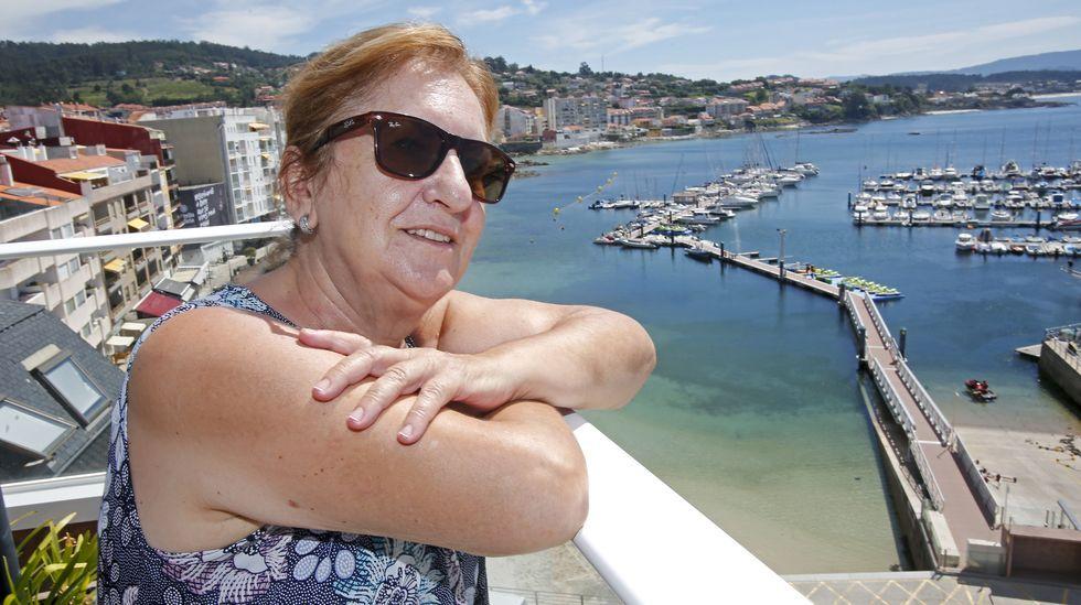 Manicha, propietaria del hotel Rotilio
