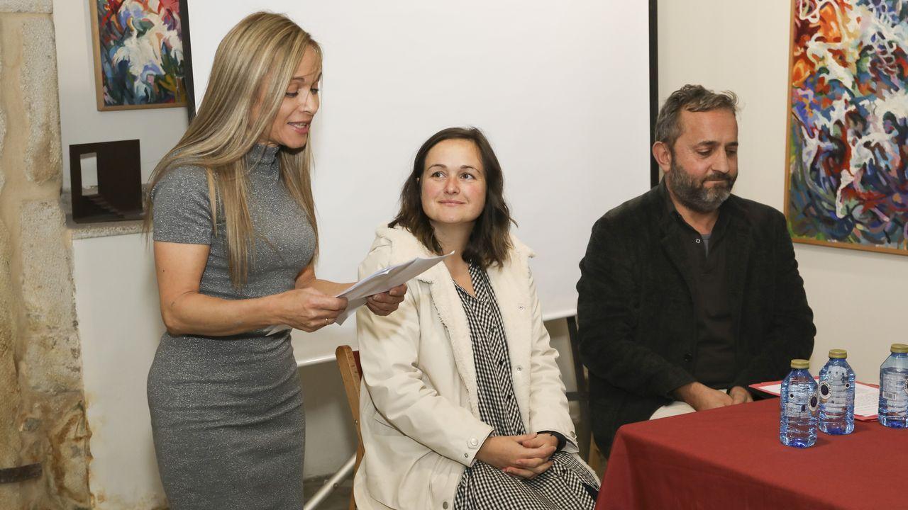 Inauguración, el viernes, de la nueva exposición de Santi Collazo en el museo de Corme