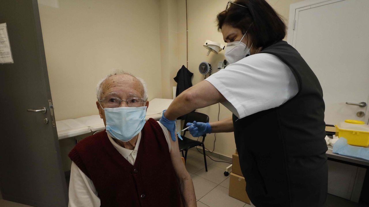 La campaña de vacunación del covid-19 para mayores de 80 arrancó el pasado lunes en la comarca