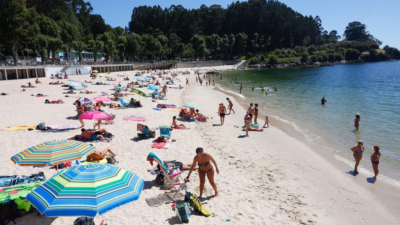 Playa de Portocelo en Marín