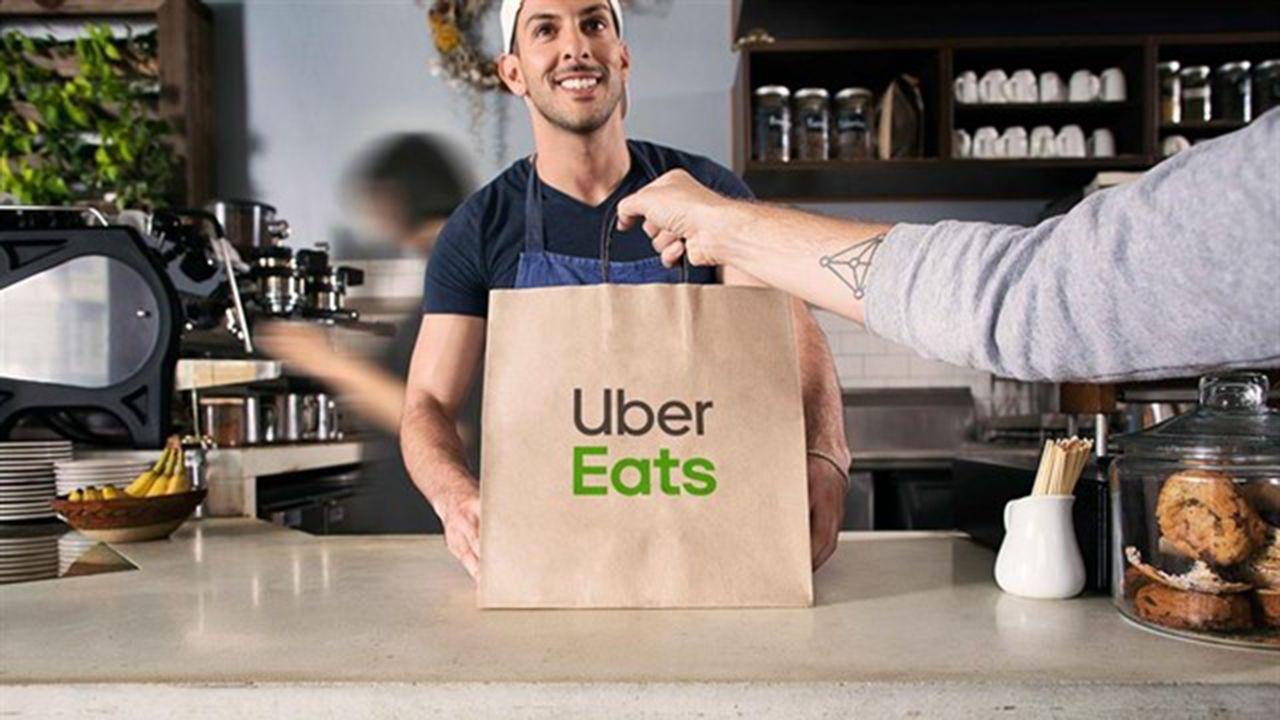 Servicio de comida a domicilio de Uber