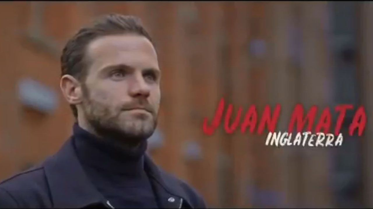 Juan Mata, en el documental de Amazon Prime