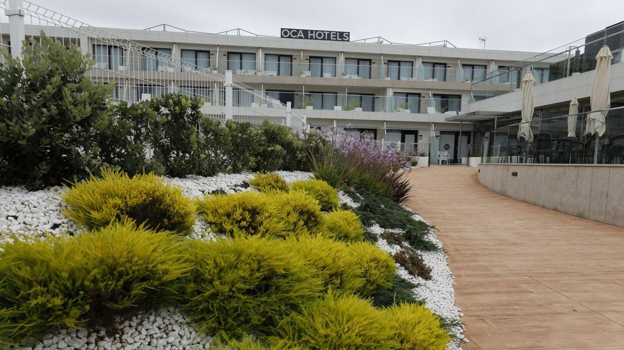 El Hotel Oca Playa de Foz prevé reabrir sus puertas el próximo 14 de mayo