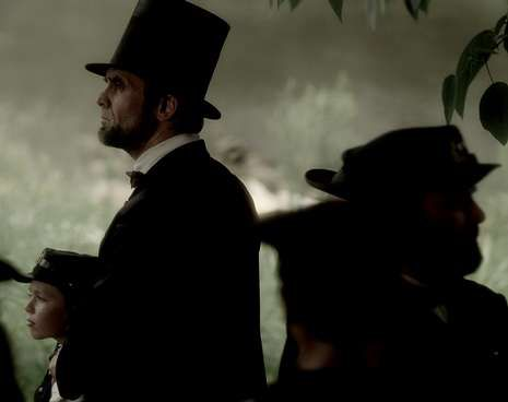 El actor Billy Campbell interpreta a Lincoln en el documental.