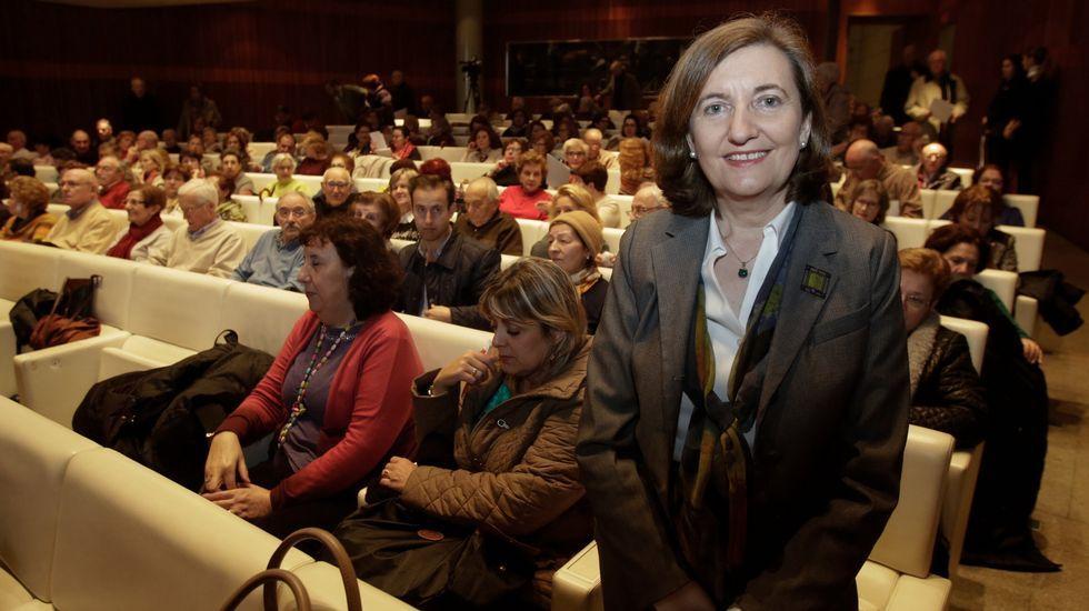 García Seoane, con una «doble» de Ana Pastor, participó en la parodia a la ministra de Fomento.