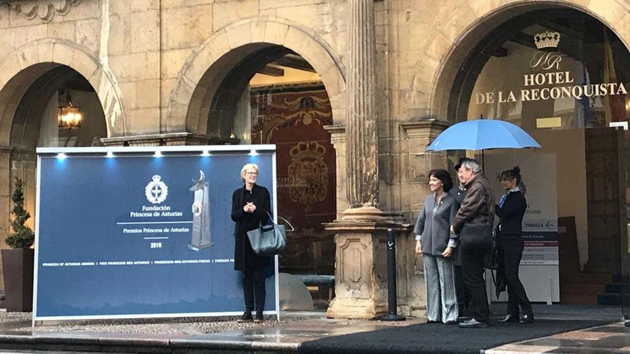 Siri Hustvedt, recién llegada al Hotel Reconquista