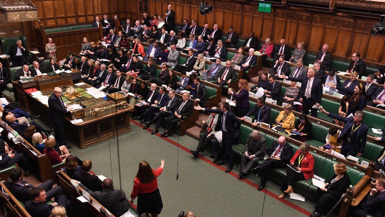Boris Johnson se declaró decepcionado porque la Cámara de los Comunes haya votado otra vez por un retraso