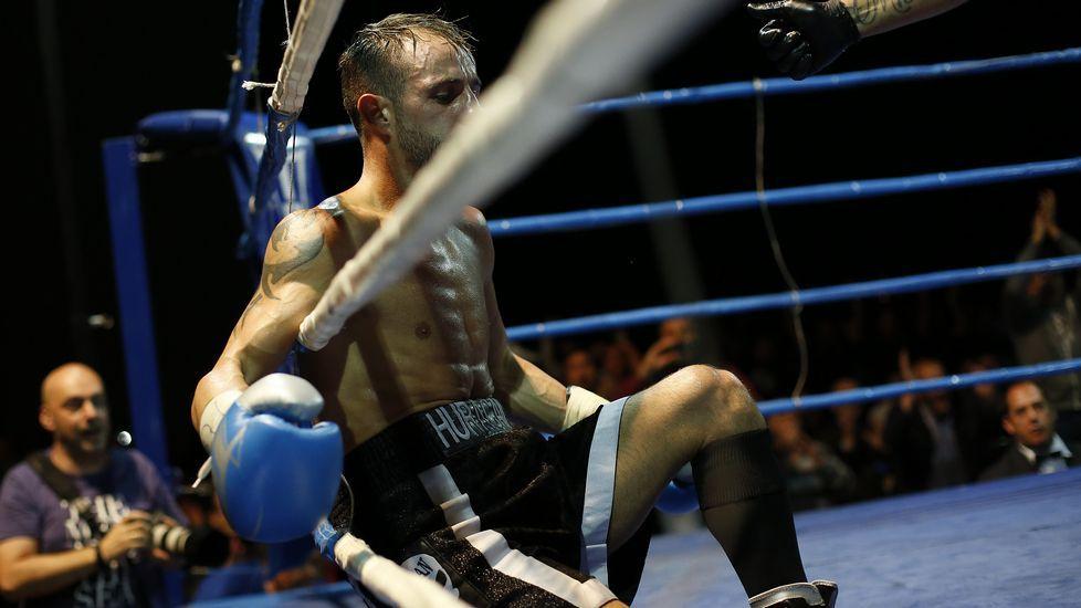 El combate entre Saúl Tejada y Moncho Mirás