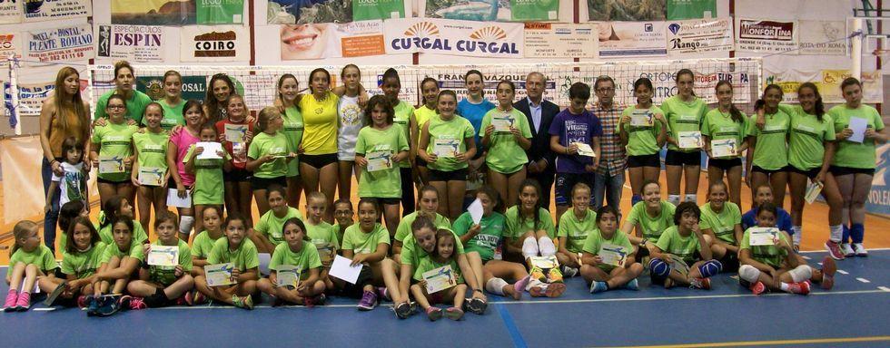 Las jóvenes jugadoras del Club Korbis certificaron un buen partido