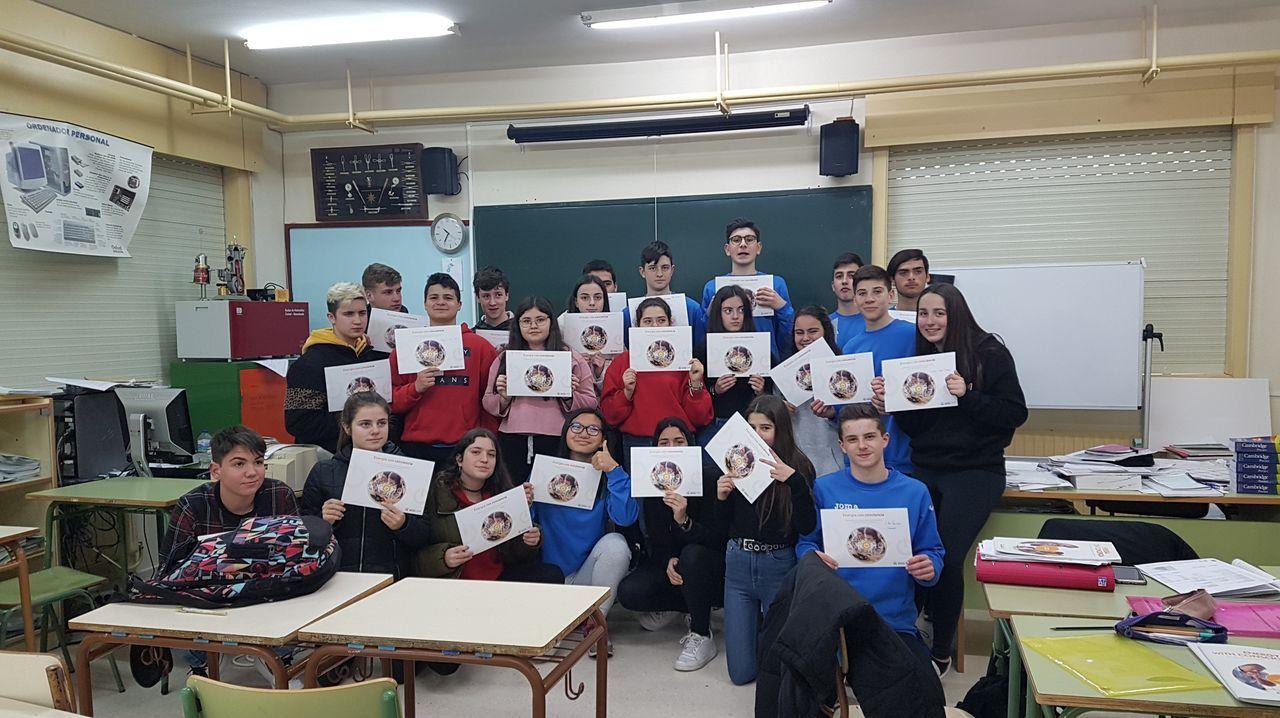 Alumnos del IES A Cachada dieron una lección de bioconstrucción