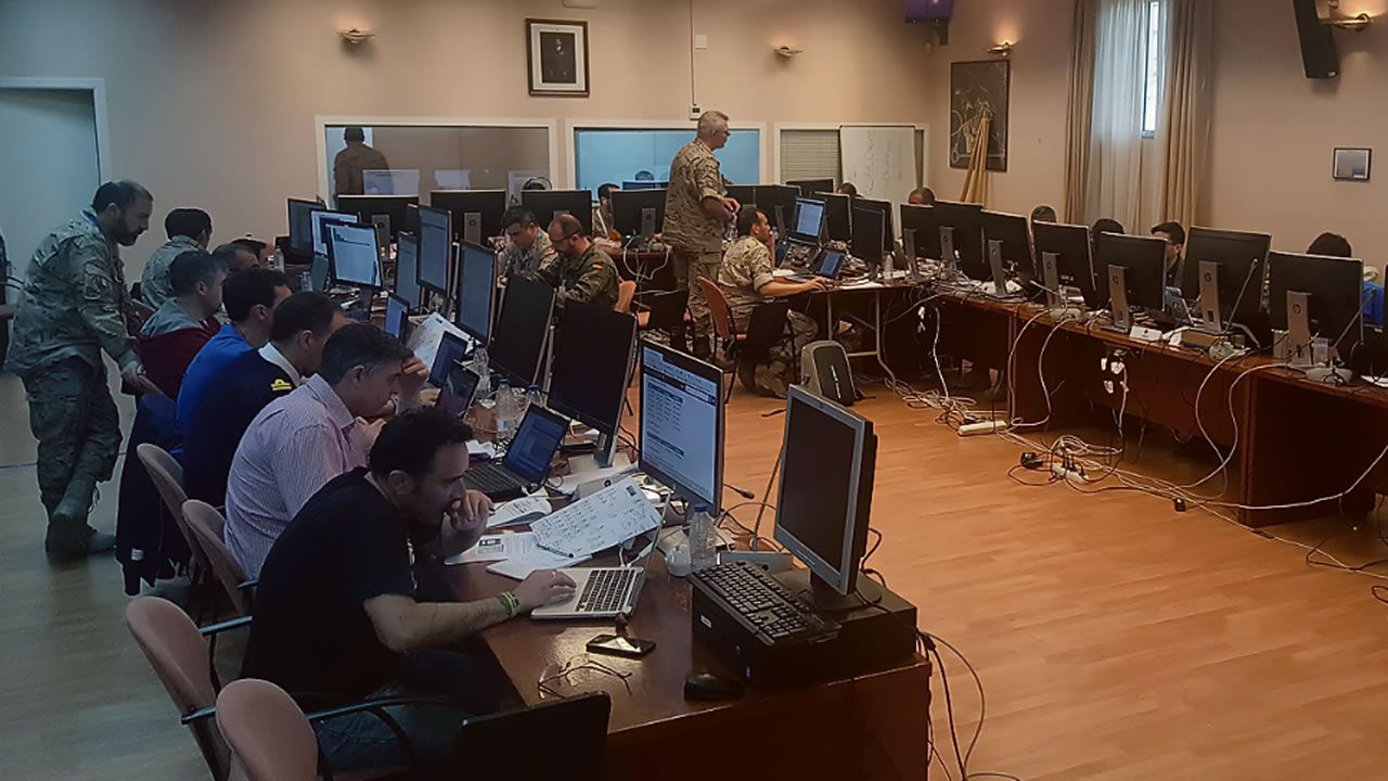 Sede del Mando Conjunto de Ciberdefensa, creada para actuar contra ataques informáticos