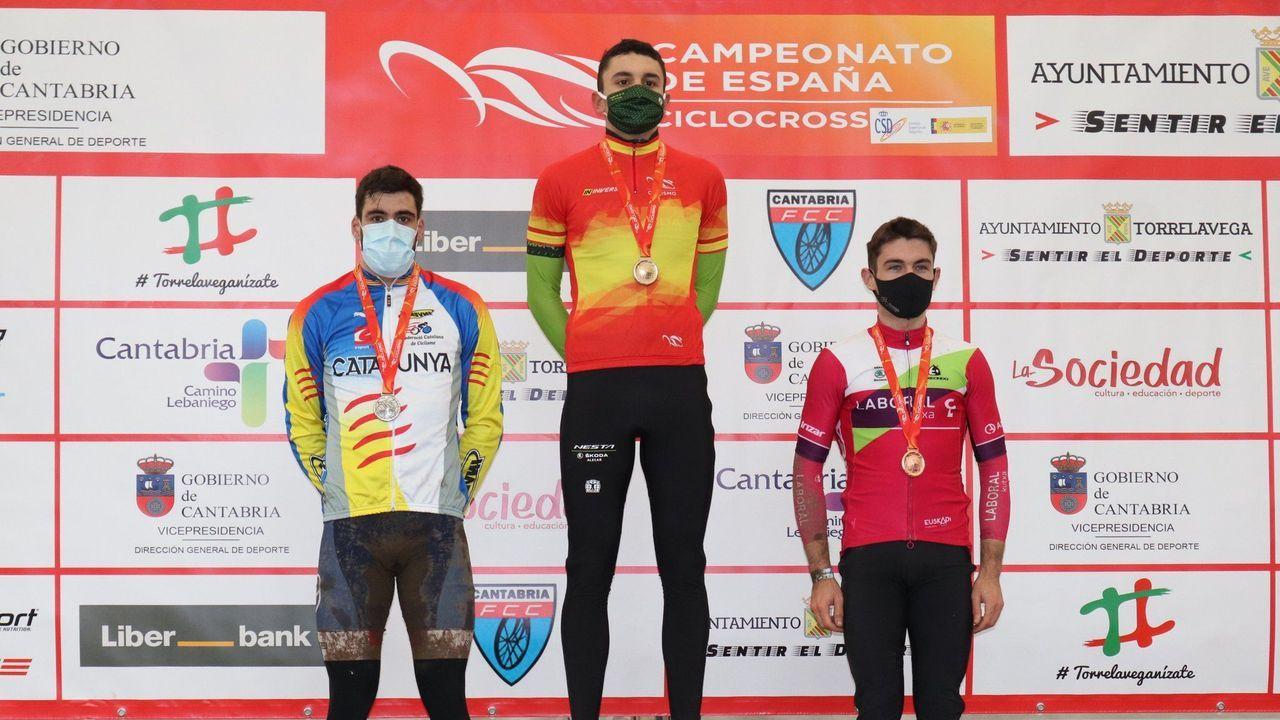 Jesús Rodil Patricio, de Vegadeo, en imagen de archivo en la Ironman de As Pontes