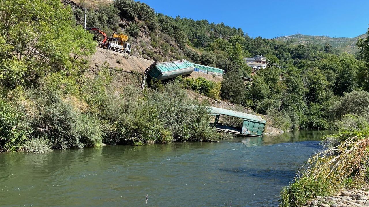 Aglomeración tren en Asturias.El Alvia con salida de Lugo y destino Madrid, uno de los nueve trenes que llegan o salen de Lugo