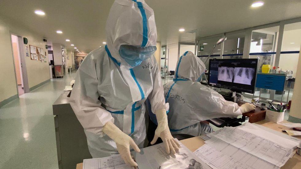 En la uci-covid del CHUO hay 17 pacientes ingresados