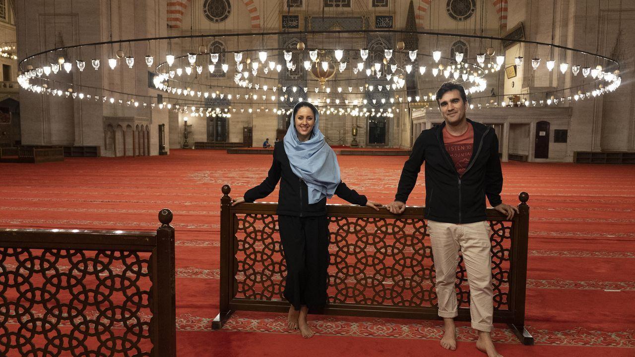 Alba Prol y Raúl García rodaron en Turquía para dar el paso de documental a serie televisiva