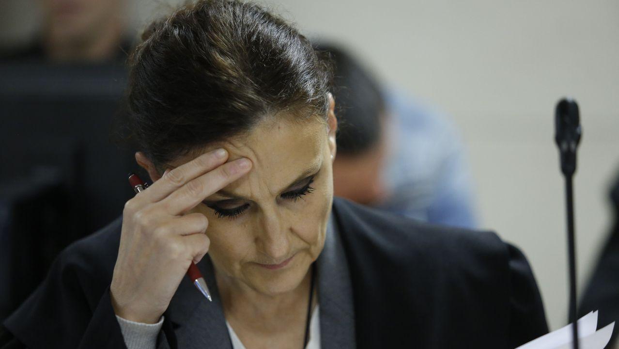 María Fernanda Álvarez, abogada de José Enrique Abuín Gey