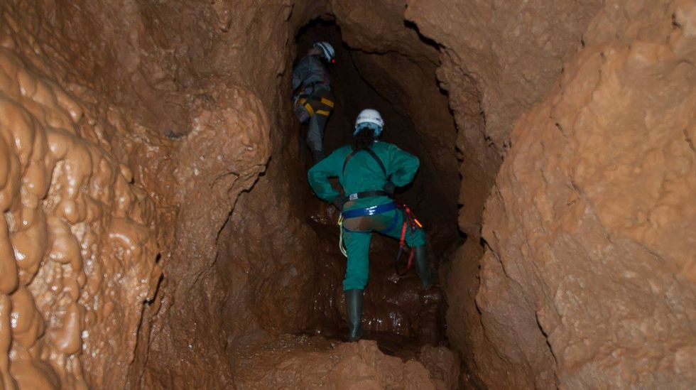 A cova foi catalogada por primeira vez no 2009 por membros do club espeleolóxico Maúxo