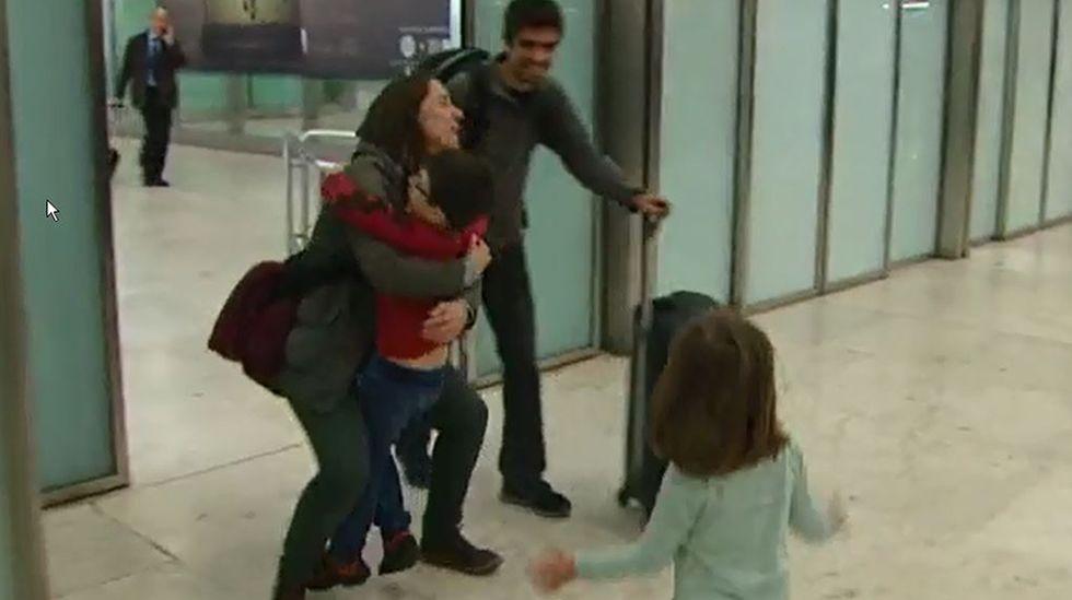 Comienzan a llegar a España los primeros ciudadanos atrapados en Bélgica