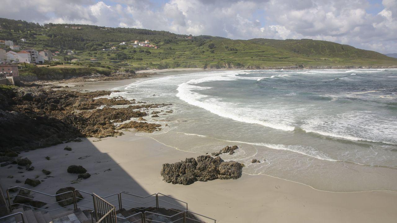 La playa de Caión es una de las que siempre consiguen la calificación de excelente